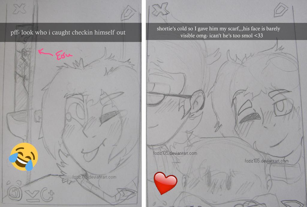 Tedd does Snapchat [Doodles] by Foziz105