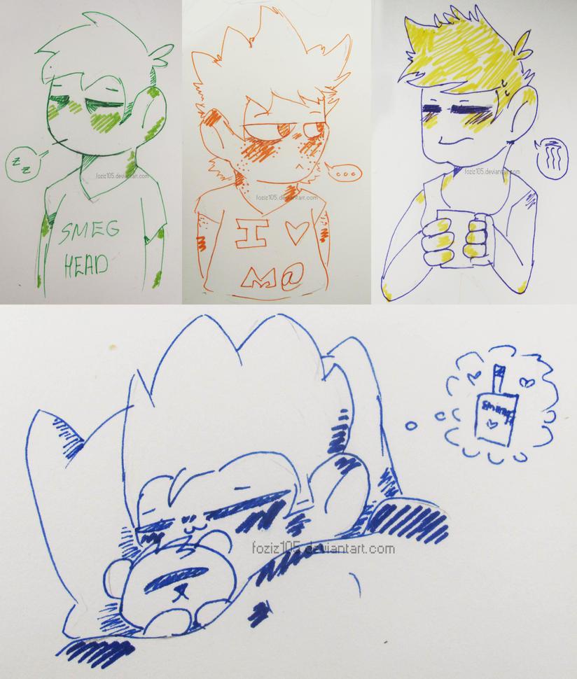 Morning Time [Doodle Dump] by Foziz105