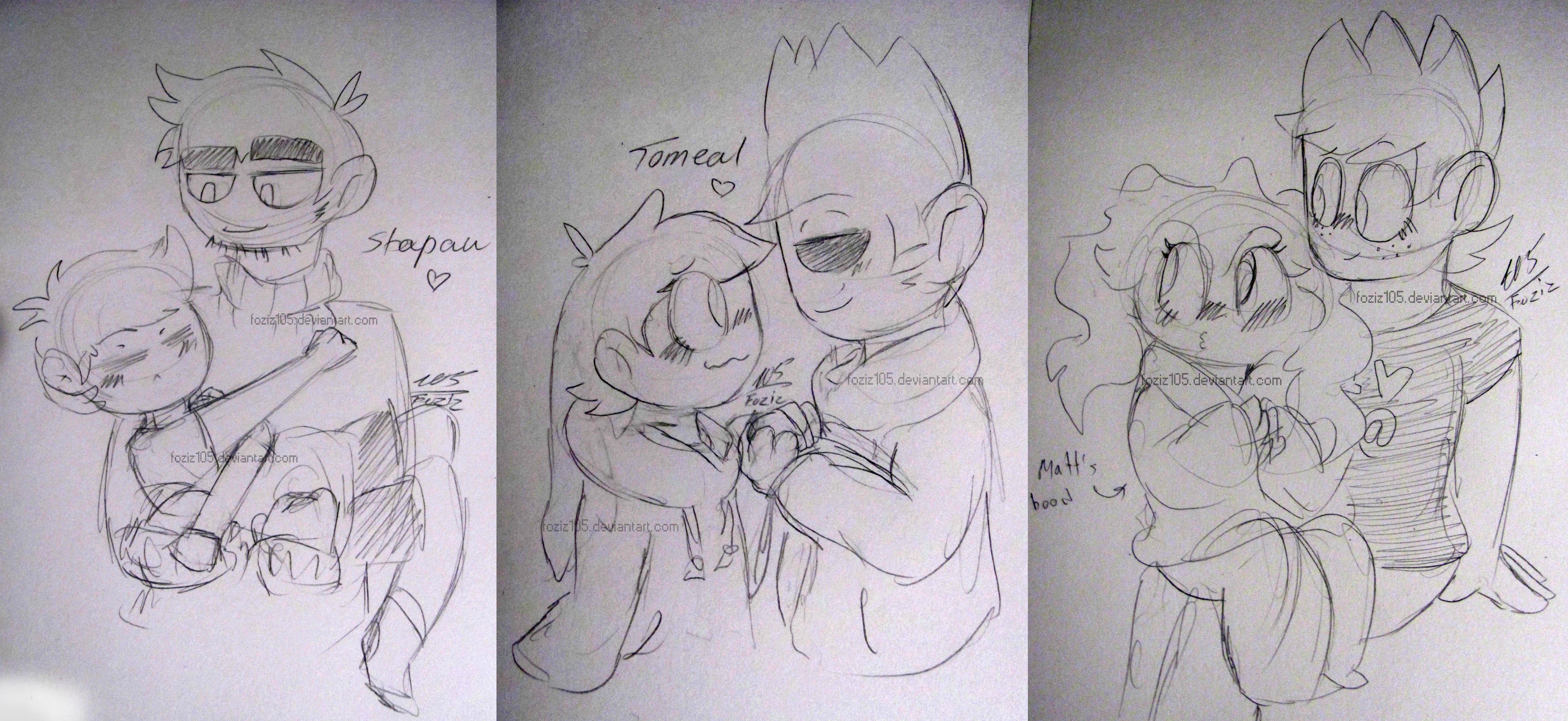 [Shipping Doodles] by Foziz105