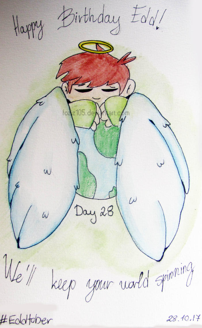 #Eddtober Day 28 - Happy B-day! Edd by Foziz105
