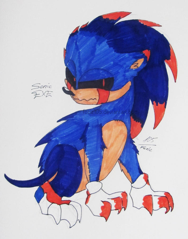 Sonic.EXE [My version] by Foziz105