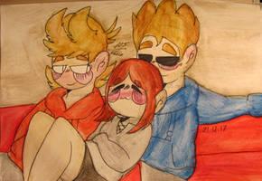 [Commission] Snuggles n' Cuddles by Foziz105
