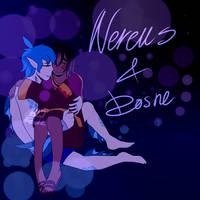 [Commission] Dosne x Nereus by Foziz105