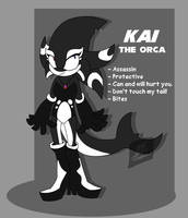 Kai the Orca 2.0 [Sonic OC] by Foziz105