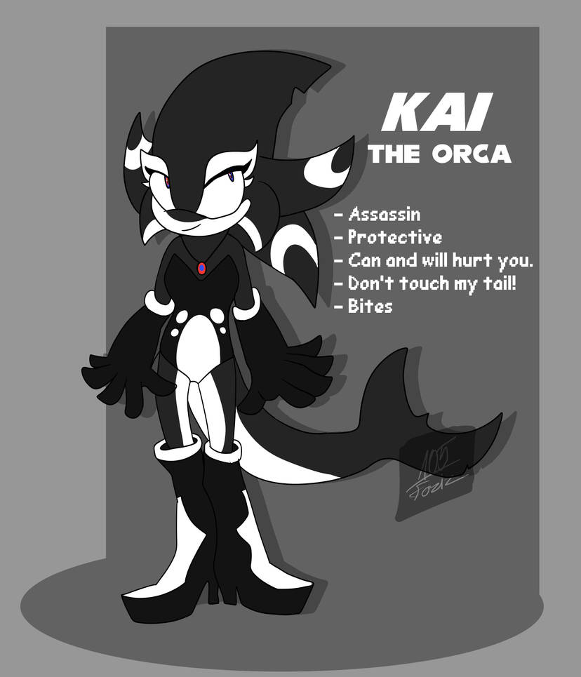 Kai the Orca 2.0 [Sonic OC] by Foziz105