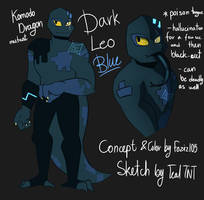 ROTTMNT Dark Leo [Collab REF] by Foziz105