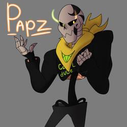 Papz (Gang!Papyrus) 2.0 by Foziz105