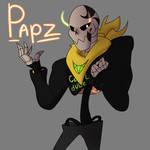 Papz (Gang!Papyrus) 2.0