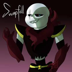 Swapfell Sans [Fan Art] by Foziz105