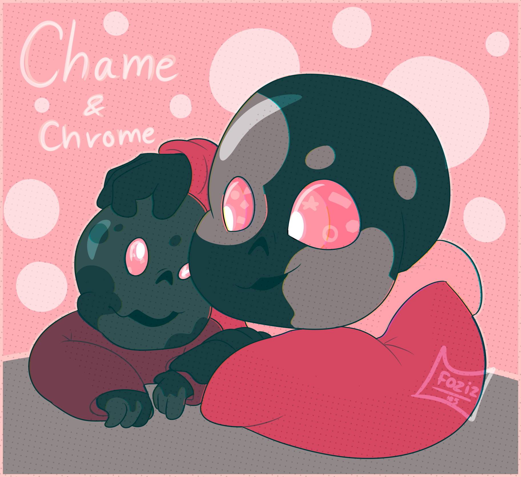 Chame and Chrome by Foziz105