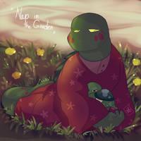 Nap in the Garden by Foziz105