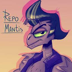 Repo Mantis |ROTTMNT| Fan art by Foziz105