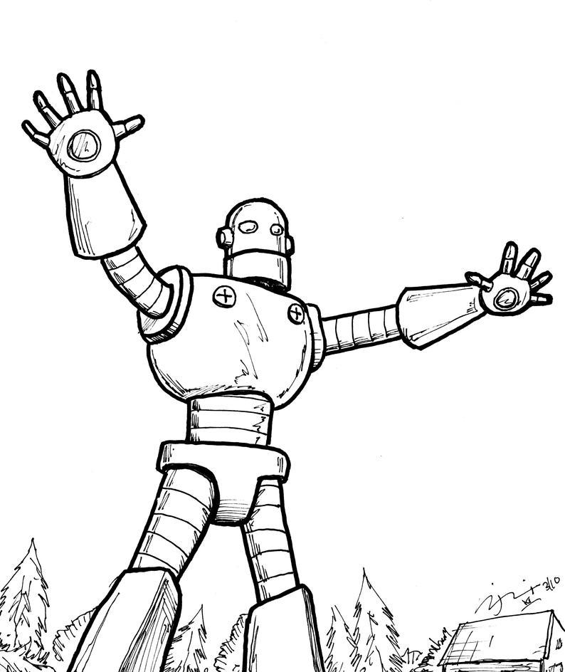 Giant Robot Kids Movie