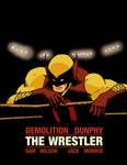 D-Man: The Wrestler homage