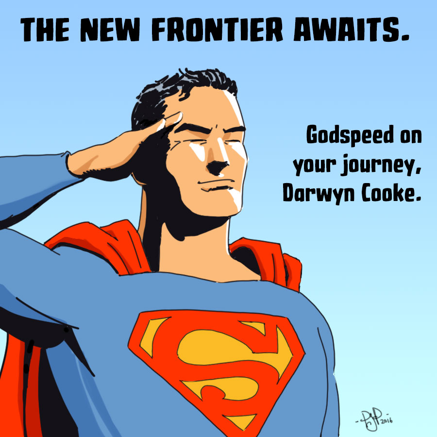 Godspeed, Darwyn Cooke by pjperez