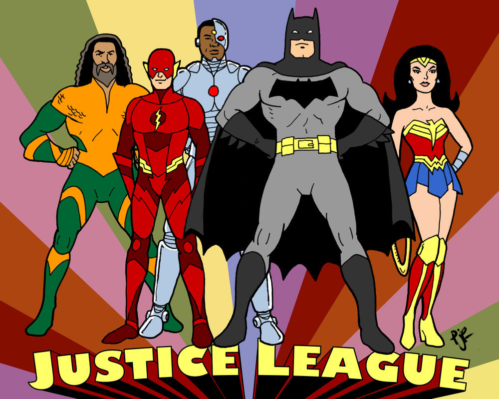 Super Justice Friends by pjperez