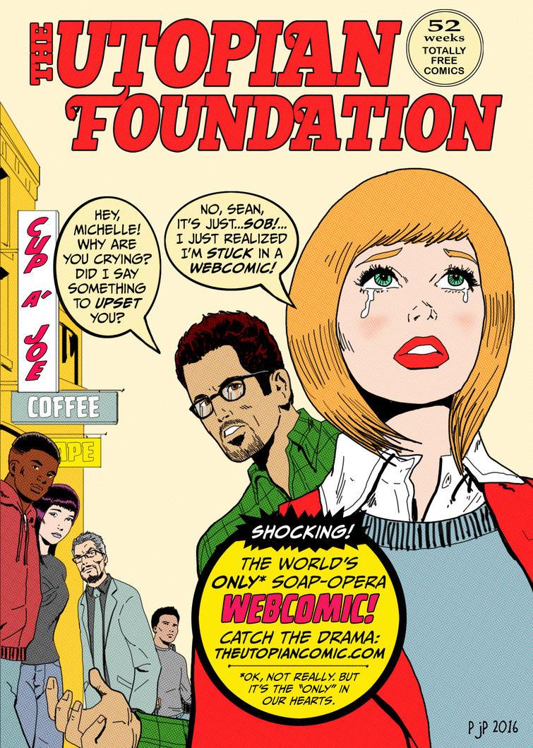 The Utopian Foundation Romance Comic Homage by pjperez