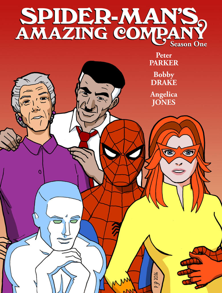 Spider-Man's Amazing Company by pjperez
