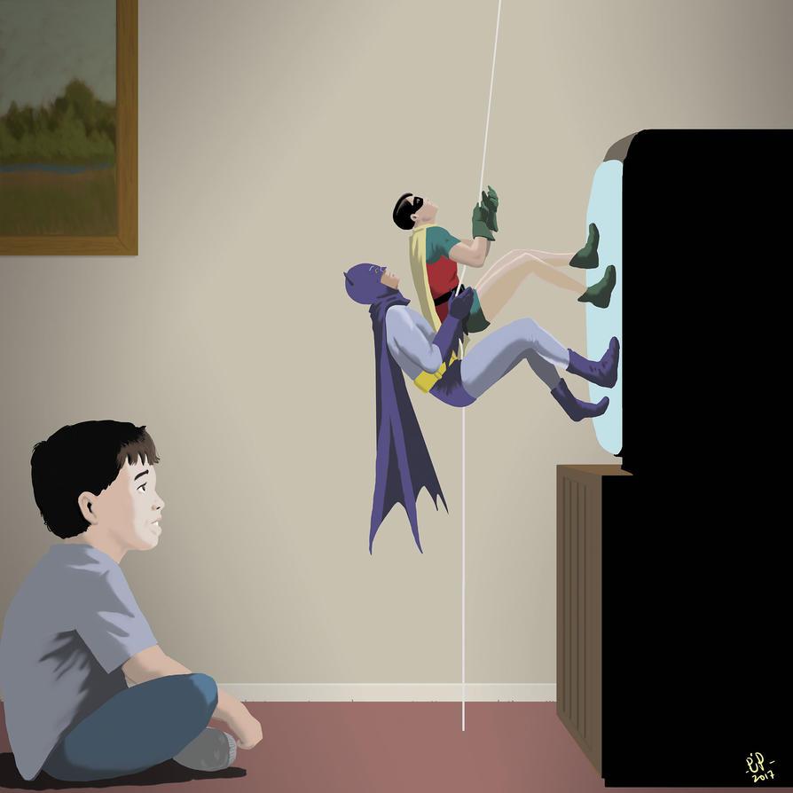 Same Bat-Time, Same Bat-Channel by pjperez