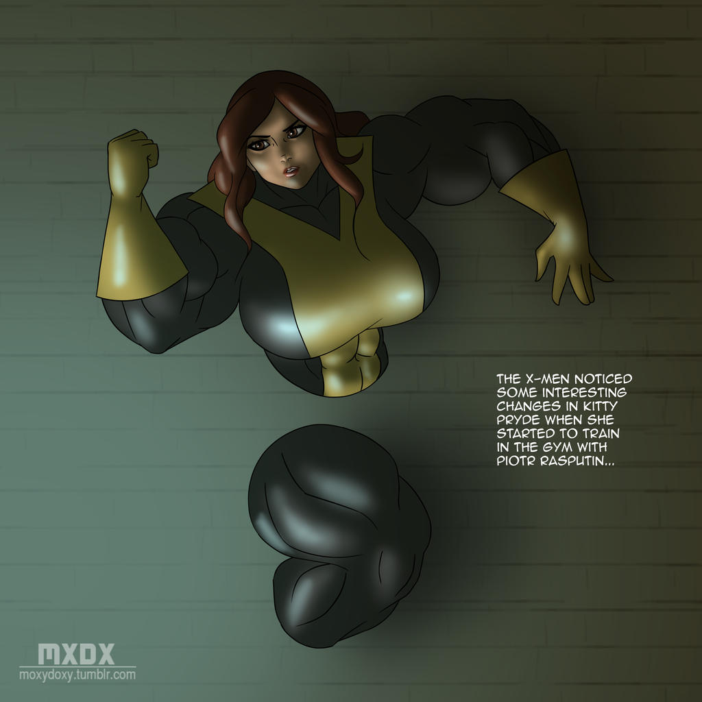 R34 Tuesdays - Shadowcat by MoxyDoxy