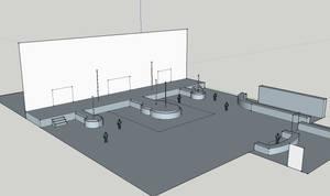 Club Binelle Club Area Concept by MoxyDoxy