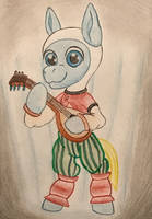 Finn The Pony: Ivan Windstrummer by GracefulArt693