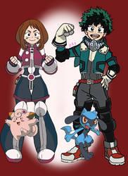 My Pokemon Ranger Academia