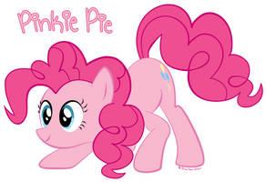 Pinkie Pie Crouching by Anarisa-Chan