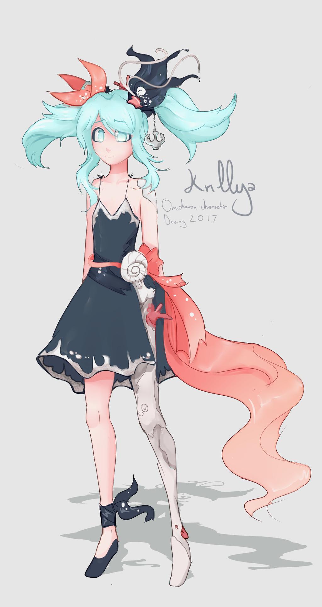 Character Design Oc : Krillya oc character design by omichiwon on deviantart