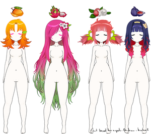 Kisekae Fruit Inspired hair exports ! #2