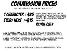Christmas pricing