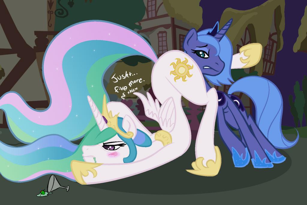 Celestia And Luna R34 Drunk Celestia And Luna by