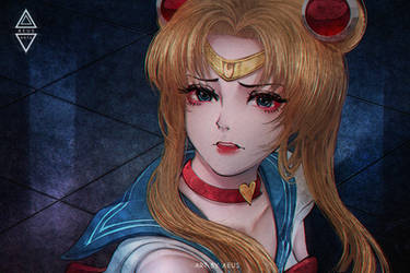 Sailor Moon by Aeusthetic
