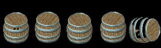 Barrel Sprite by ReidYaro
