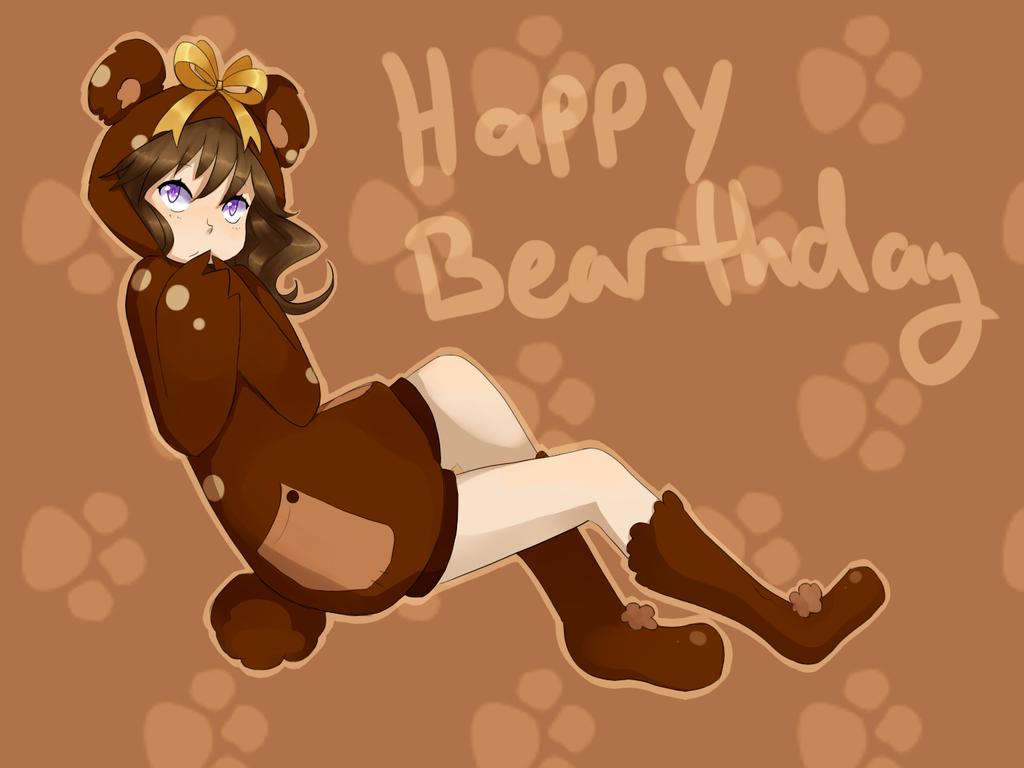 Happy Bearthday by lazylogic