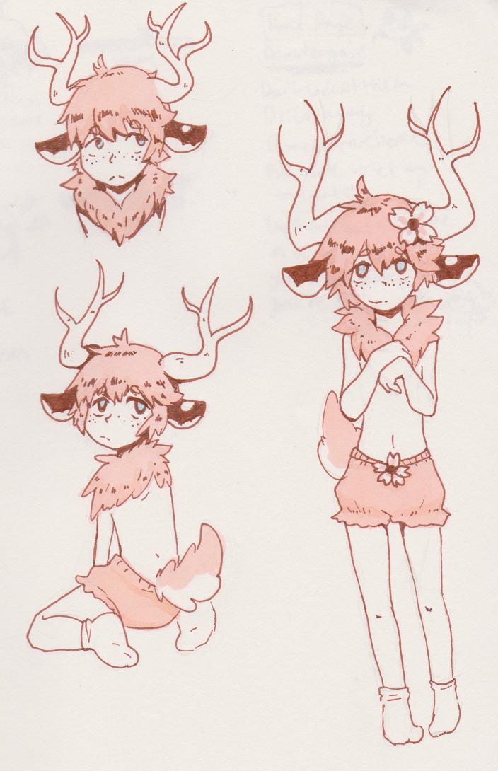 Deer boy by lazylogic