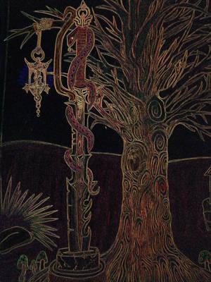 Psychedelic Dark Night by HypnoZeus