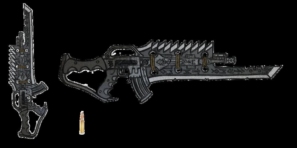 7.62mm ''OGRE'' Assault Rifle by HypnoZeus