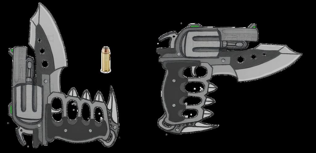 KnuckleHead Revolver by HypnoZeus