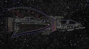 Inverted Aztek Attack Ship