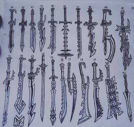 Slashing Swords
