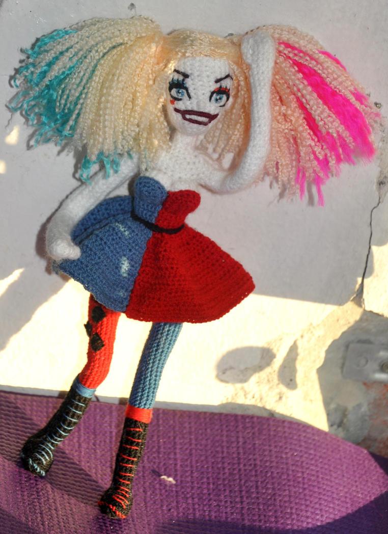 Amigurumi Harley Quinn : Amigurumi Harley Quinn (15) by Faurik on DeviantArt