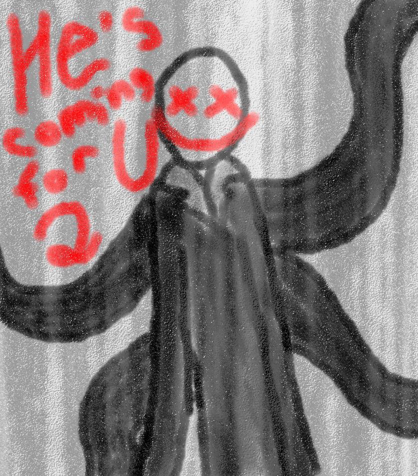 Slendy doodle by DarkDivaLocura