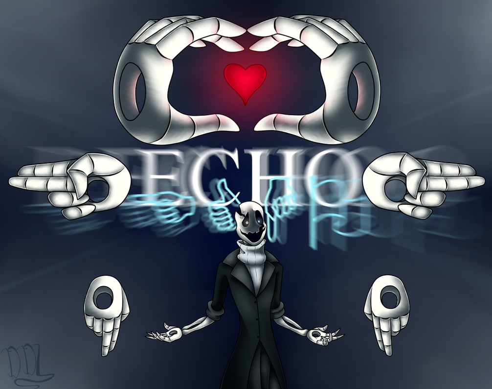 ECHO -Speedpaint- by DarkDivaLocura