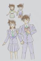 Shinichi and Ran by MeiTanteixX