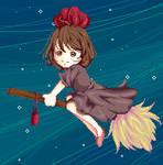 Kiki's delivery by SakeChyan