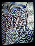 random notebook doodle