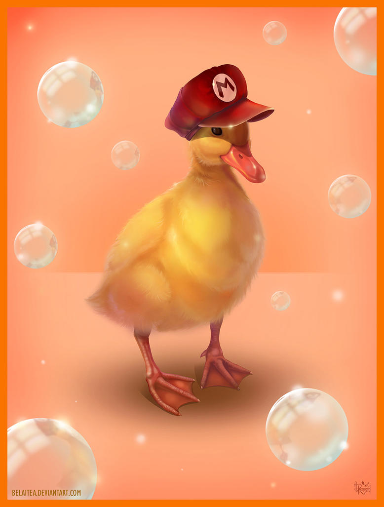 Mario Duck by Belaitea