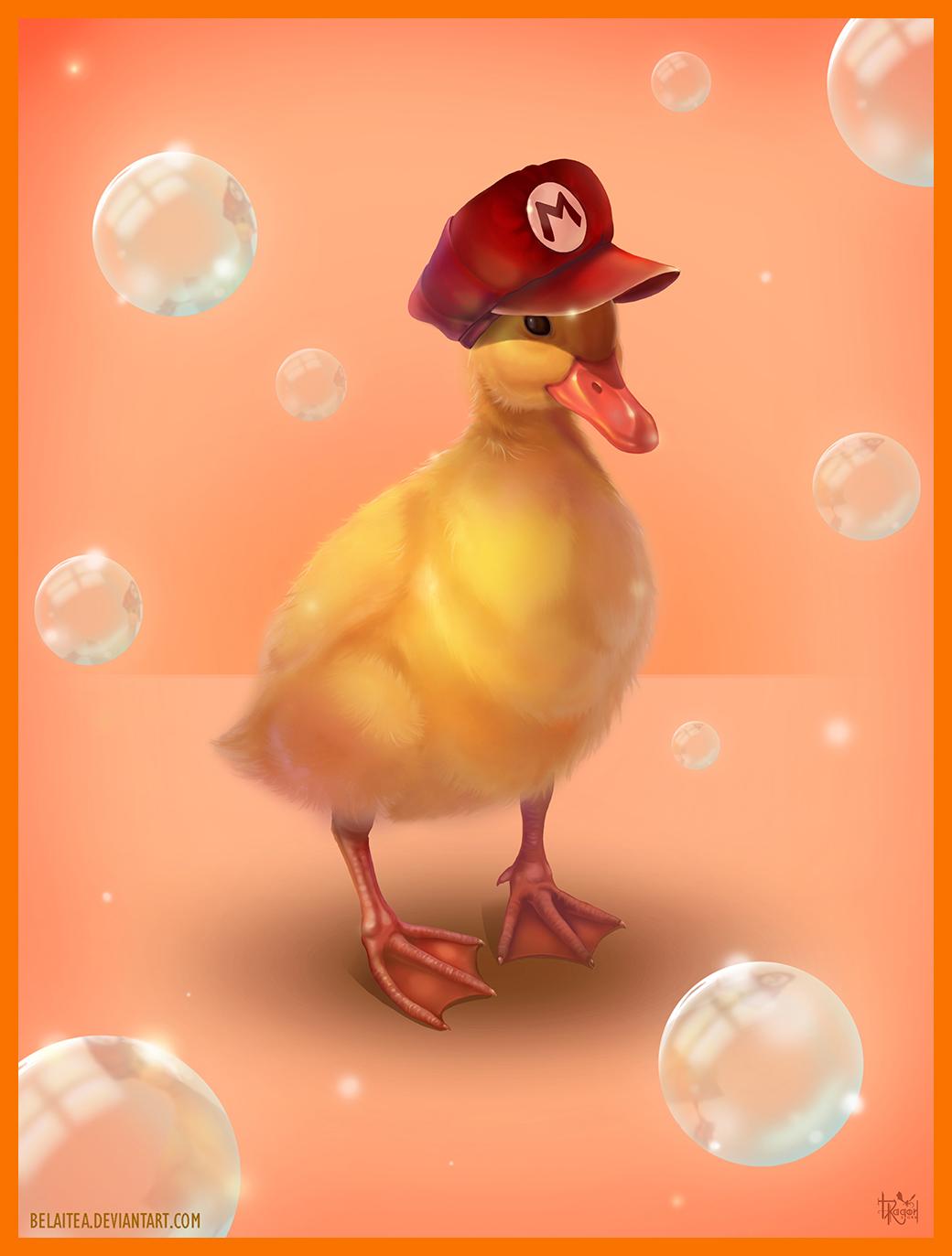 Mario Duck by Belaitea