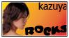 Kazuya stamp by Rosemary09